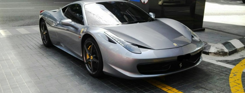 458 grey front