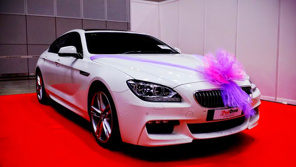 Bmw 640 Gran Coupe White Red Orca